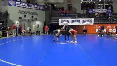 191 lbs Quarterfinal - MaQuoia Bernabe, Cumberlands vs Victoria Hinojo, Oklahoma City