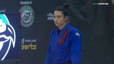 Amanda Nogueira vs Nathalie Ribeiro 2018 Abu Dhabi Grand Slam Los Angeles