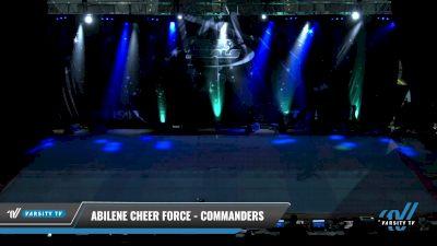 Abilene Cheer Force - Commanders [2021 L2.1 Junior - PREP Day 2] 2021 The U.S. Finals: Pensacola