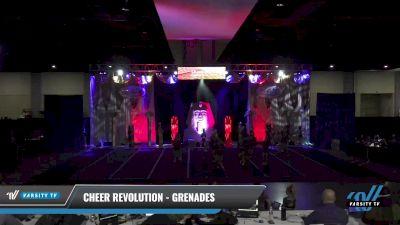 Cheer Revolution - Grenades [2021 L5 Senior Open Coed - D2 Day 2] 2021 Queen of the Nile: Richmond