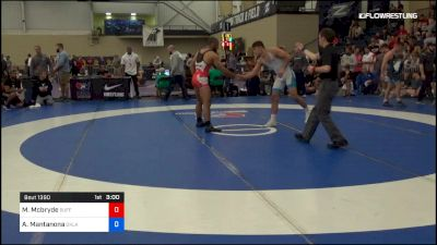 79 kg Rr Rnd 2 - Muhamed Mcbryde, Buffalo vs Anthony Mantanona, Oklahoma