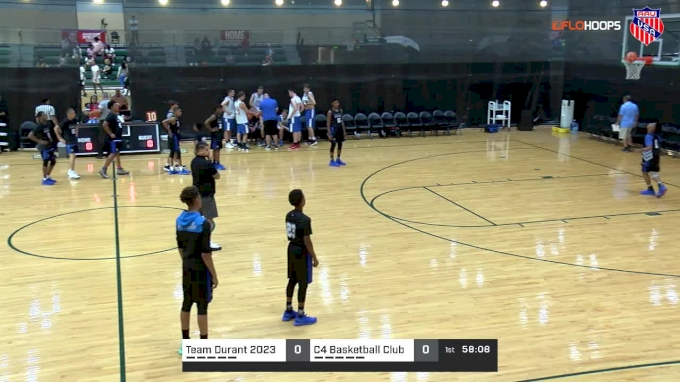 Team Durant 2023 vs C4 Basketball Club | 7 28 2018 | AAU Boys 8B