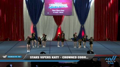 Stars Vipers Katy - Crowned Cobras [2021 L1 Junior - Novice Day 2] 2021 The American Spectacular DI & DII