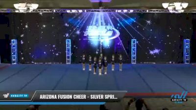 Arizona Fusion Cheer - Silver Sprinkles [2021 L1.1 Tiny - PREP Day 2] 2021 The U.S. Finals: Phoenix