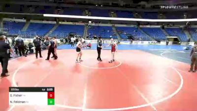 220 lbs Final - Gabe Fisher, Tennessee vs Nicholas Feldman, Pennsylvania