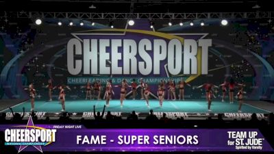 FAME All Stars - Midlo - Super Seniors [2020 L6 International Open Day 1] 2020 CHEERSPORT Nationals: Friday Night Live