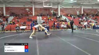 86 kg Prelims - Max Lyon, Boilermaker RTC vs Neil Antrassian, Pennsylvania RTC