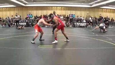 156 lbs Consi Of 8 #2 - Fabius Carrillo, Top Dog WC vs Micah George, Wasatch WC