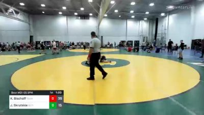 141 lbs Semifinal - Kellen Bischoff, Team Integrity vs Josh Skrutskie, Gettysburg