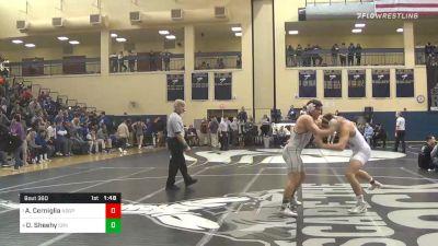 160 lbs Semifinal - Andrew Cerniglia, Notre Dame Green Pond vs Dillon Sheehy, Council Rock North