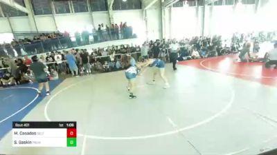 191 lbs Quarterfinal - Mariyah Casados, Self Made Training Facility vs Sarah Gaskin, Pounders WC