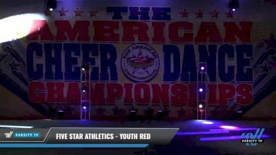Five Star Athletics - Youth Red [2021 L1 Youth - Small Day 1] 2021 The American Celebration DI & DII