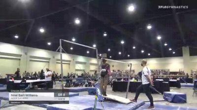 Nirel Bart-Williams - Bars, WOGA Gym #852 - 2021 USA Gymnastics Development Program National Championships