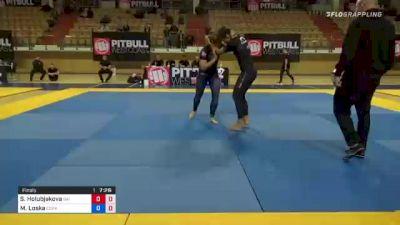 Slavka Holubjakova vs Magdalena Loska 1st ADCC European, Middle East & African Trial 2021
