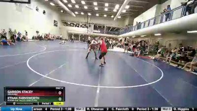 191 lbs Round 2 - Ethan Farnsworth, Hurricane Valley Wrestling vs Garison Stacey, Westlake