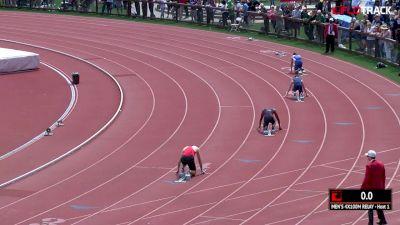 Men's 4x100m Relay, Heat 1
