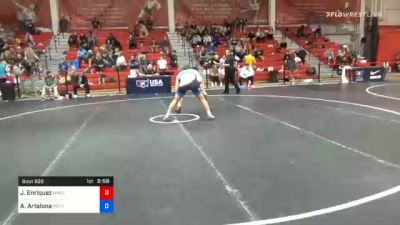 70 kg Consolation - Jaden Enriquez, Michigan Wrestling Club vs Anthony Artalona, Pennsylvania RTC