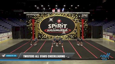 Twisters All Stars Cheerleading - Vortex [2021 L2 Junior - Small] 2021 PA Championship