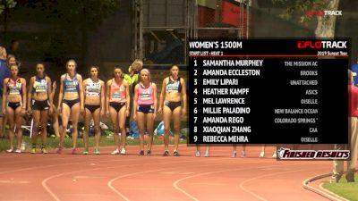 Women's 1500m, Heat 1