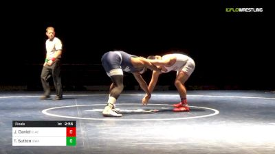 197 lbs Final - Joey Daniel, Clackamas vs Tyree Sutton, Iowa Central
