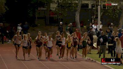 Women's 1500m Open, Heat 8