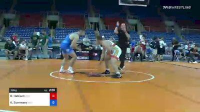 86 kg Rr Rnd 3 - Riley Habisch, Bison Wrestling Club vs Kyle Summers, Missouri