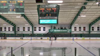 Full Replay - Bentley vs Mercyhurst   Atlantic Hockey