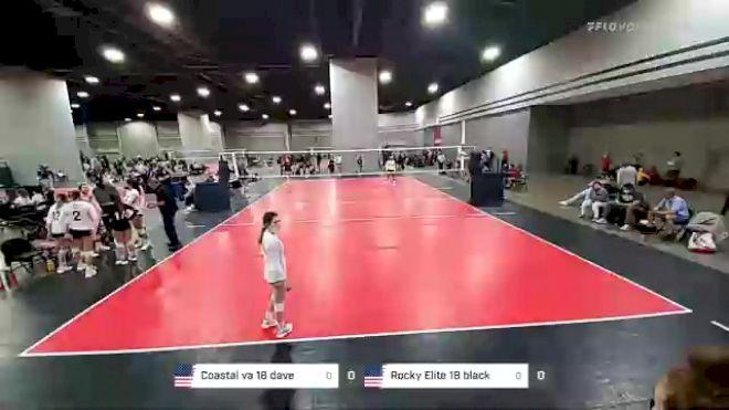 Coastal va 18 dave vs Rocky Elite 18 black - 2021 Mizuno Big South National Qualifier (Courts 1-80)
