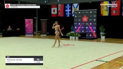 Katherine Uchida - Ball, Ontario - 2019 Canadian Gymnastics Championships - Rhythmic