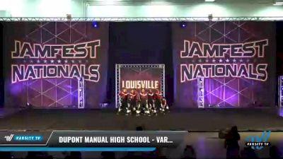 Dupont Manual High School - Varsity Hip Hop [2021 Varsity - Hip Hop Day 2] 2021 JAMfest: Louisville Championship