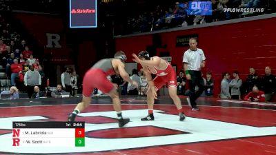 174 lbs Consolation - Mikey Labriola, Nebraska vs Willie Scott, Rutgers