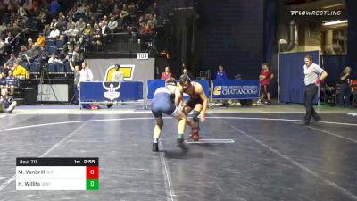 157 lbs Consolation - Michael Vanbrill, Rutgers vs Hunter Willits, Oregon St.