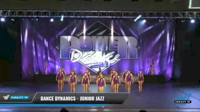 Dance Dynamics - Junior Jazz [2021 Junior - Jazz Day 2] 2021 ACP Power Dance Nationals & TX State Championship