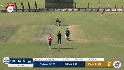 Replay: England XI vs Finland | Sep 27 @ 5 PM