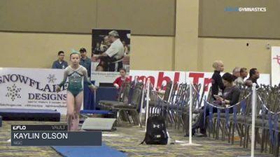 Kaylin Olson - Vault, NGC - 2018 Brestyan's Las Vegas Invitational