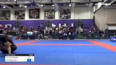 Ryan Christopher vs Pedro Fillipe Serra 2019 Pan IBJJF Jiu-Jitsu No-Gi Championship