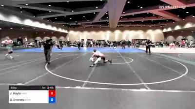 65 kg Prelims - Justin Hoyle, Washington vs Gabriel Onorato, Pennsylvania RTC
