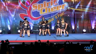 Cheer Militia All Stars Black Ops [2020 Senior - D2 - Small Day 2] 2020 Beast of the East DI & DII Winter Nationals