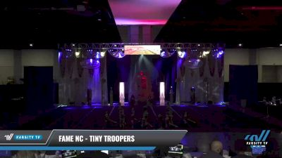 FAME NC - Tiny Troopers [2021 L1 Tiny Day 1] 2021 Queen of the Nile: Richmond