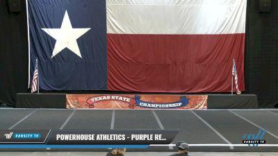 PowerHouse Athletics - Purple Reign [2021 L4 Junior - D2 Day 2] 2021 ACP Power Dance Nationals & TX State Championship
