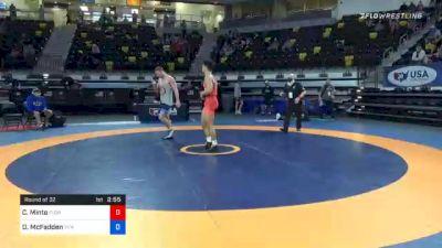 79 kg Prelims - Christian Minto, Florida vs David McFadden, Titan Mercury Wrestling Club (TMWC)