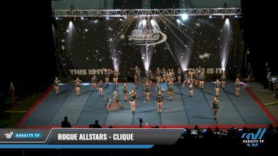Rogue Allstars - Clique [2021 L2 Junior - D2 - Medium Day 1] 2021 The U.S. Finals: Pensacola