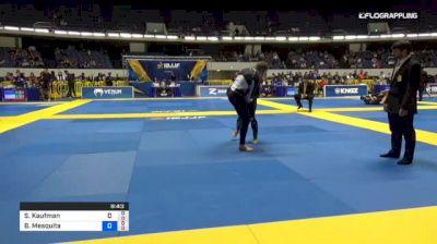 Sarah Kaufman vs Beatriz Mesquita 2018 World IBJJF Jiu-Jitsu No-Gi Championship