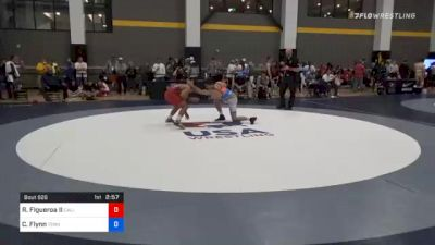 57 kg Quarterfinal - Richard Figueroa II, California vs Cooper Flynn, Tennessee