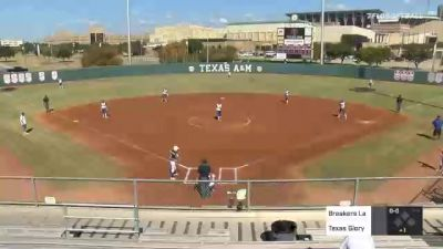 Texas Glory vs. Breakers Labs - 2020 Bombers Exposure Weekend - Old Aggie Field - Pool Play