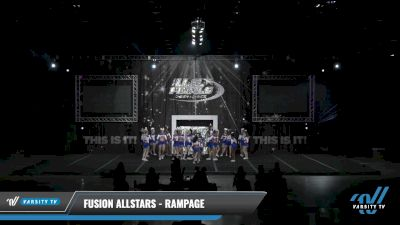 Fusion Allstars - Rampage [2021 L4.2 Senior Day 2] 2021 The U.S. Finals: Louisville