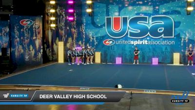 Deer Valley High School [2020 Co-Ed Varsity Show Cheer Intermediate Day 1] 2020 USA Spirit Nationals
