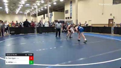 147 lbs Consolation - Brock Carrigan, Trinity vs Ryan Miller, Butler
