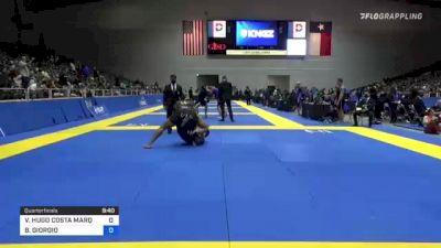 VICTOR HUGO COSTA MARQUES vs BRIAN GIORGIO 2021 World IBJJF Jiu-Jitsu No-Gi Championship