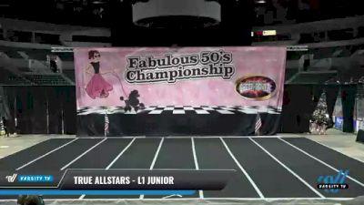 True Allstars - L1 Junior [2021 Trust] 2021 ACP Disco Open Championship: Trenton